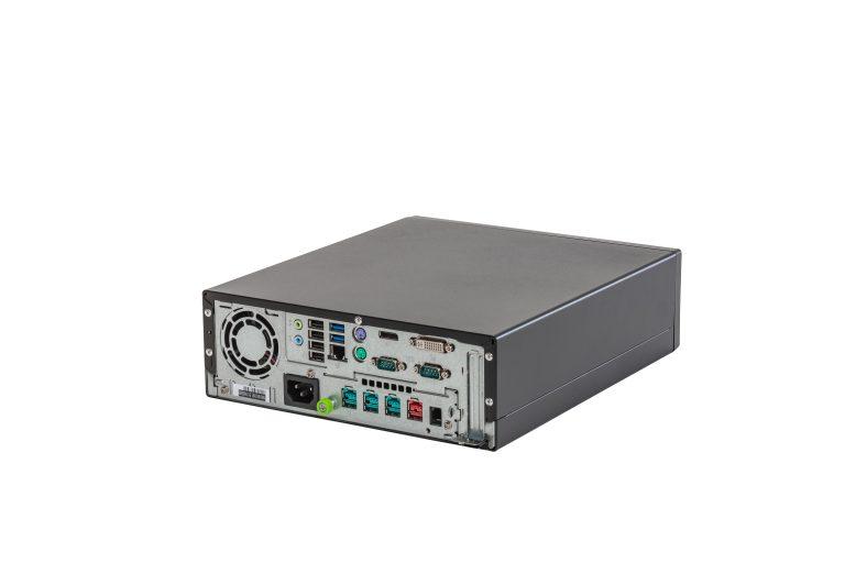 Kassenbox Fujitsu TP7000 - Rückansicht